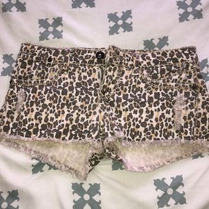 SALE: Cheetah print shorts